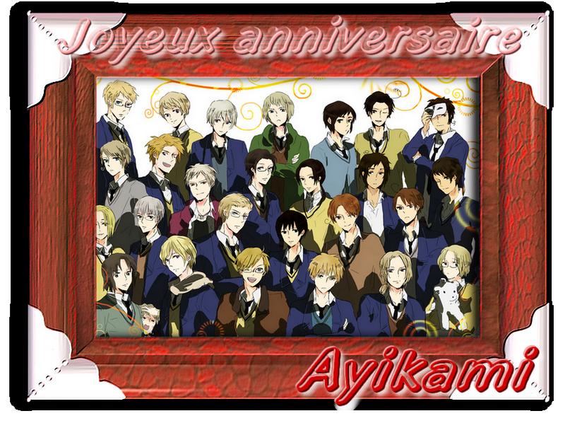 Très bon anniversaire Ayikami 410437Ayikami2014