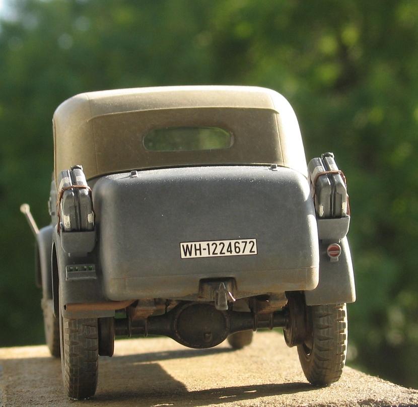 Steyr 1500A kommandeurwagen Tamiya 1/35 411172IMG0016