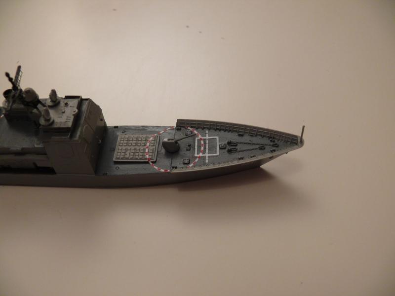 Croiseur US Monterey CG61 411317P1070972