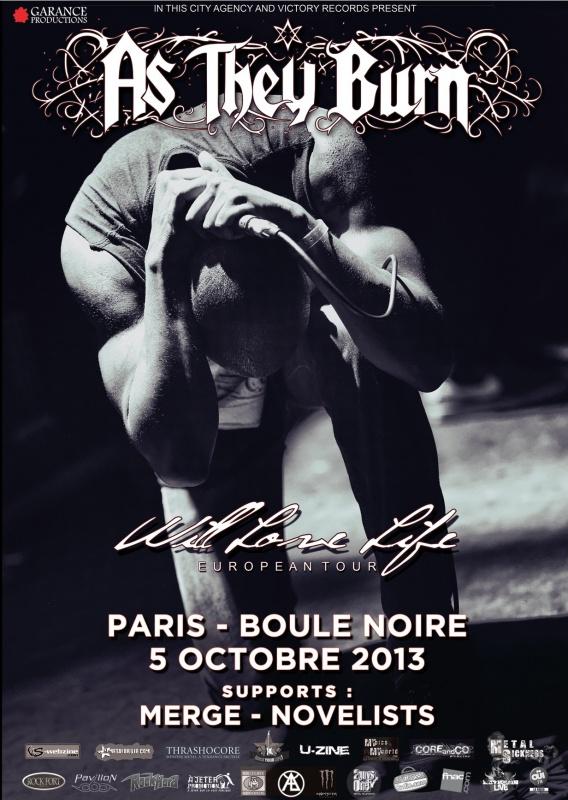 05.10 - As They Burn + Merge + Novelists @ Paris 411937ATB