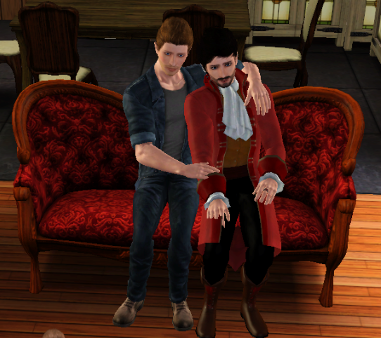 Once upon a Sims  412716taffKillianDave