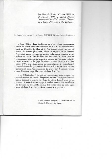 Livret Jean-Pierre MICHELIN  413068663