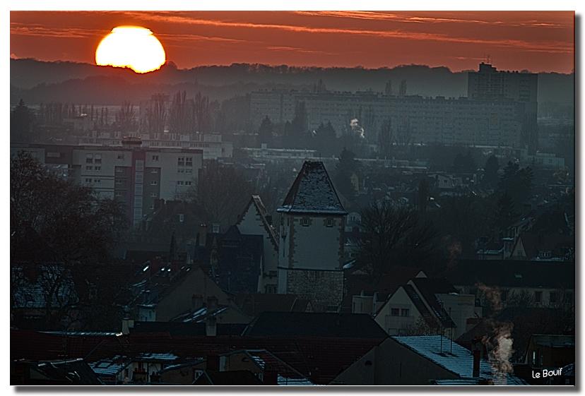 Mulhouse à la tombée de la nuit d'hiver Bis en 2011 413116CoucherdesoleilN7