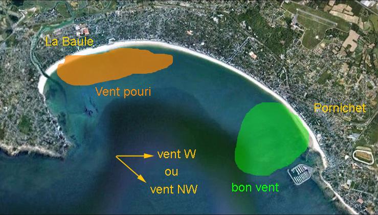 Vers l'estuaire de la Loire (Pornichet/LaBaule, St Brévin...) au fil du temps... - Page 3 413143secteursventouestpornich