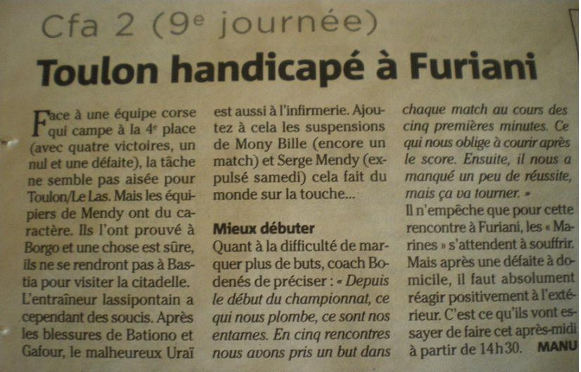 TOULON LE LAS // CFA2 GROUPE E  413933IMGP2382JPG