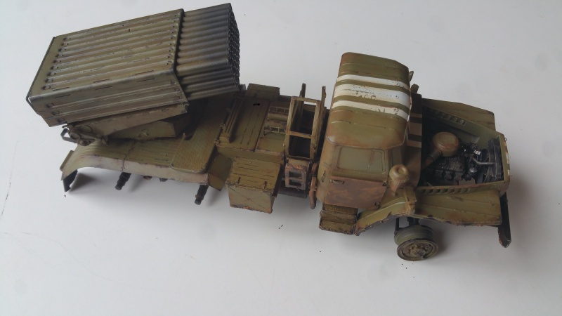 BM-21 GRAD 1/35 TRUMPETER 41448220161110123225