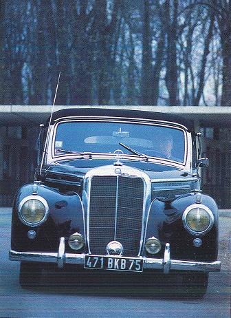 Mercedes 170 et 220. La renaissance 414559220cabriolet