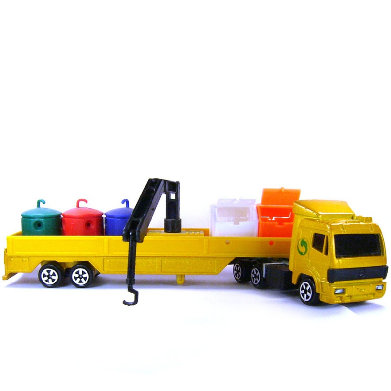 N°621 Mercedes + containers recyclage 415636282