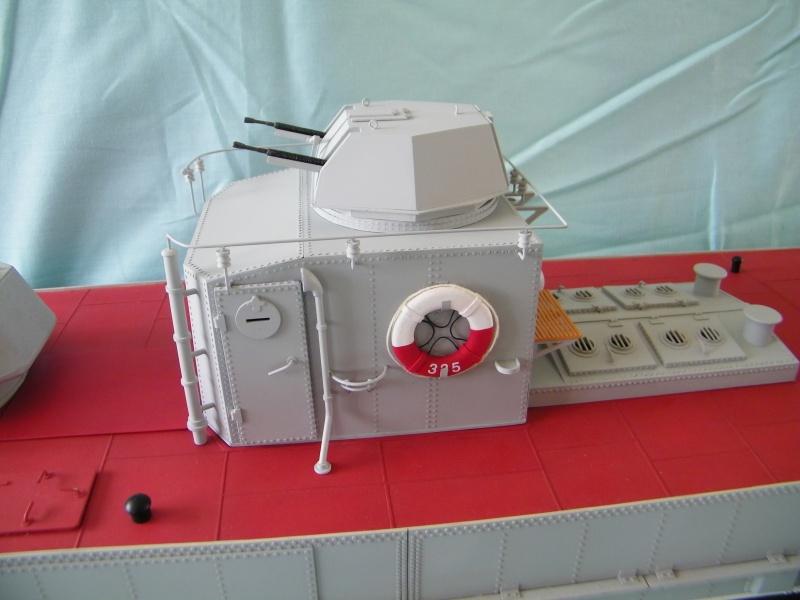 Russian gunboat Bk 1124 au 1/20e sur plan 4163771004673