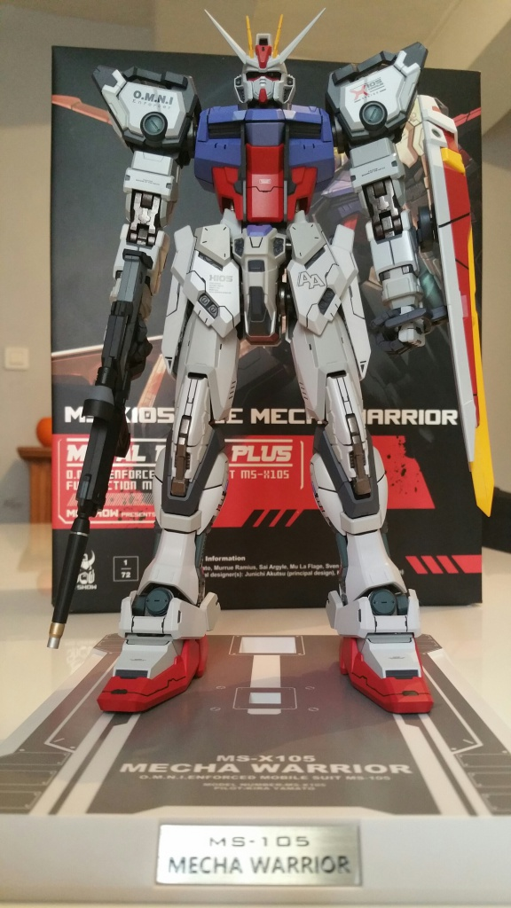 Review/Edito : Strike Gundam Metal Build 1/72 by Moshow la leçon Chinoise donnée a Bandai  418071201610061427551