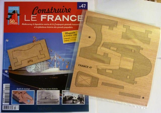 Le france  au 1/250è - hachette-Amati - Page 8 421152Fasc047r