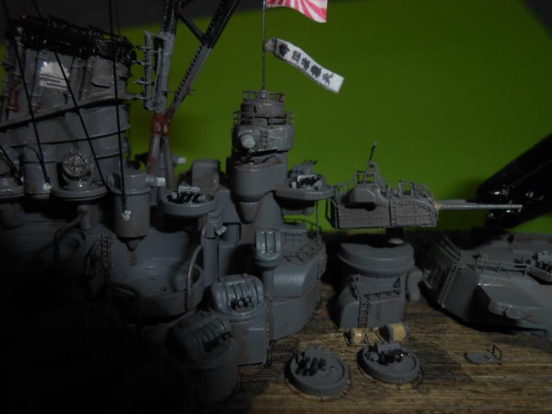 Yamato 1/700 fuji, PE,Pont en bois et babioles - Page 5 422415DSCN6262