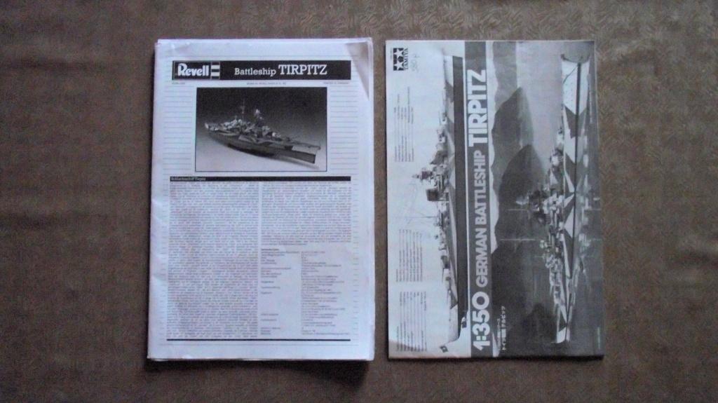 Tirpitz Revell au 1x350 avec PE 423423TirpitzRevell1x35010