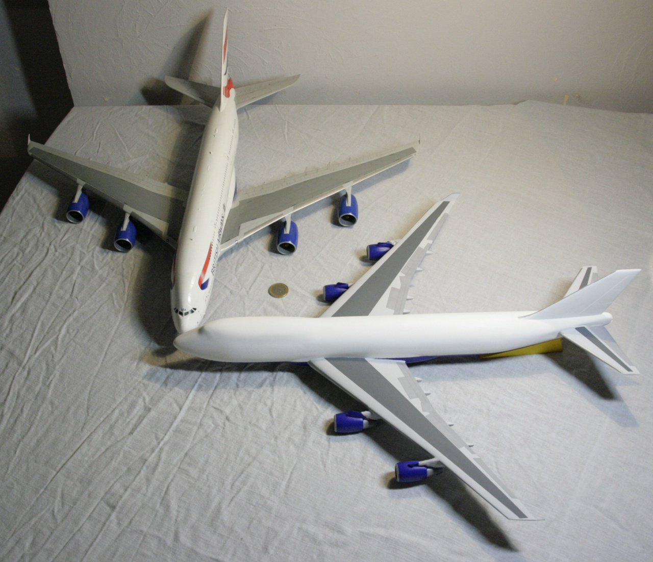 Boeing 747-4F British Airways revell 1/144 424820MG1033