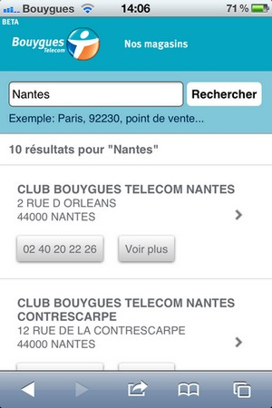 Bouygues Telecom: son site en version mobile 424897btmob2