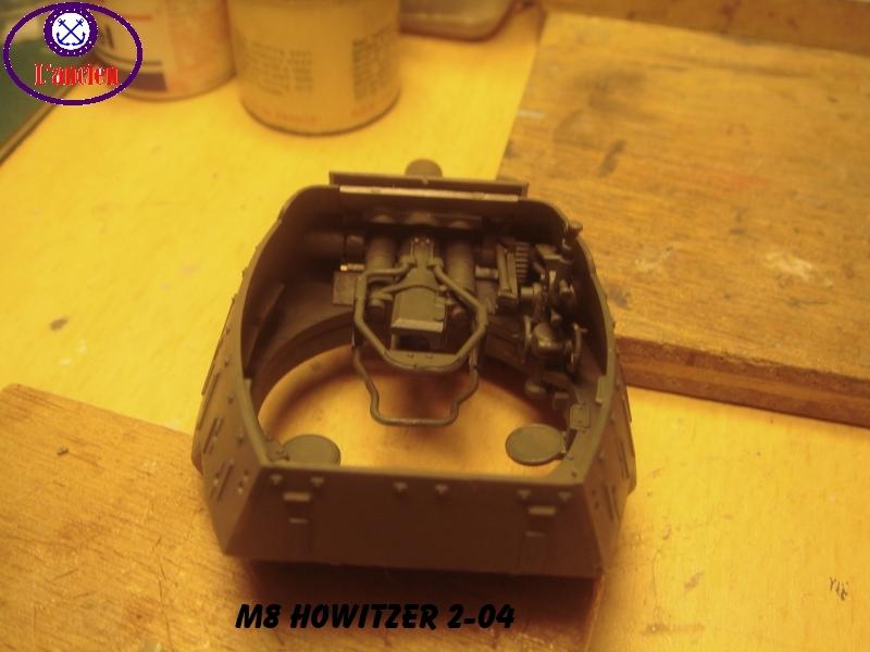 Le M8 US HOWITZER au 1/35è Tamiya par l'Ancien 426787m8204