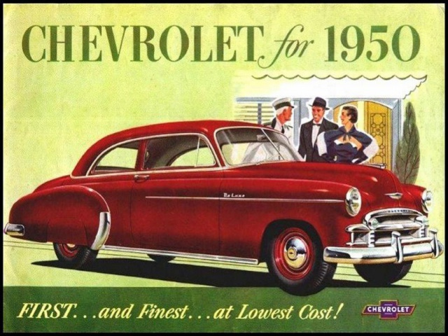 Antique Cars Adverts Revised 4304531950ChevroletBrochure01Large