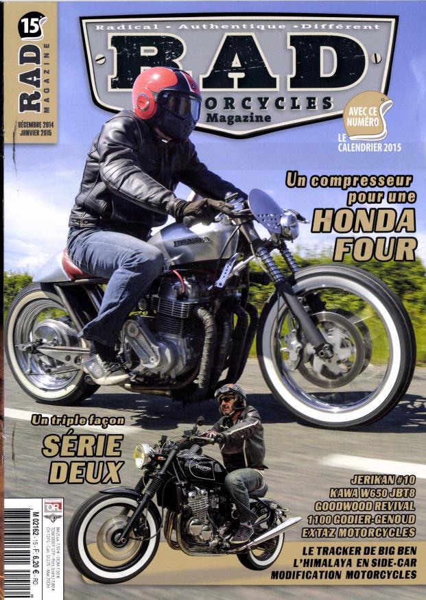 Honda Four avec compresseur,Godier Genoud.... 431226rad