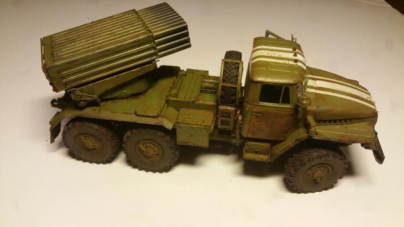 BM-21 GRAD 1/35 TRUMPETER 43696120161111210842