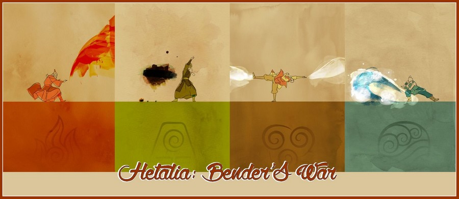 Hetalia : The bender's war