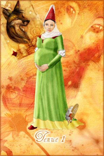 [Ancien catalogue] Tenues pour femme enceinte 437309Tenue1