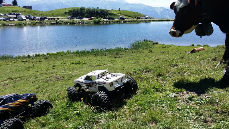 Mes x-maxx en vacances dans les Alpes. 43862420160807135914