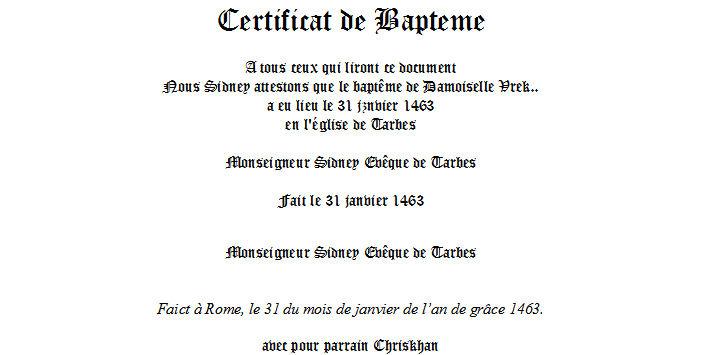 La Galerie d'Armes des Châtelains 440224baptemedevrek
