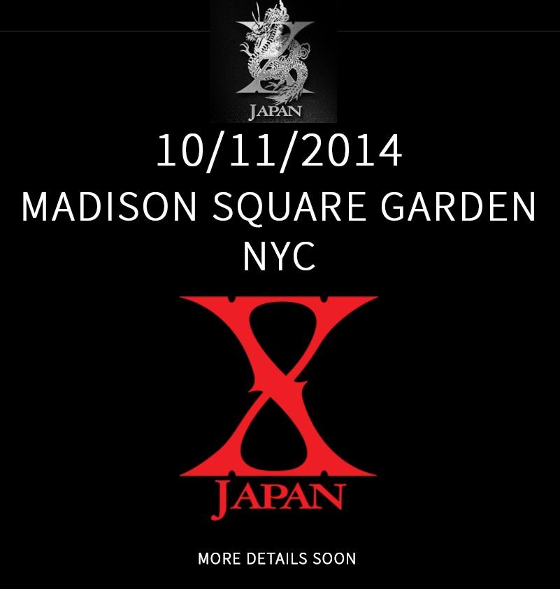 - Madison Square Garden [11 Octobre 2014] 440475XJAPANMSG