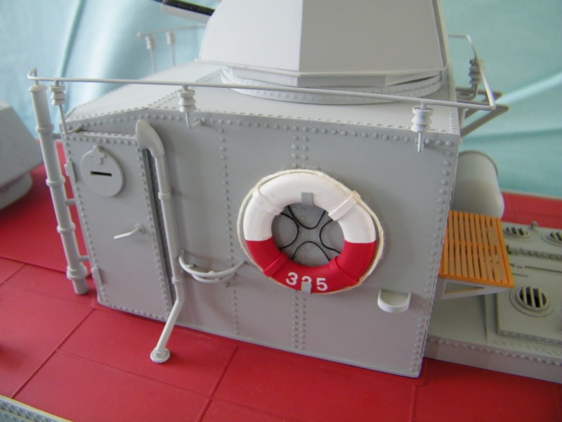 Russian gunboat Bk 1124 au 1/20e sur plan 4415631004675