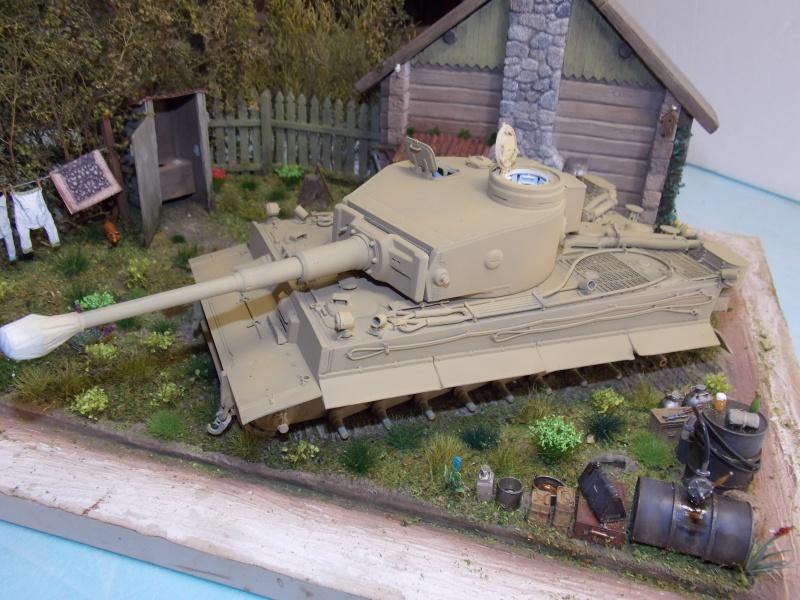TIGRE S33  avant la bataille de Koursk juillet 43 (Dragon 1/35 dio DIODUMP) - Page 5 441583DSCN4655