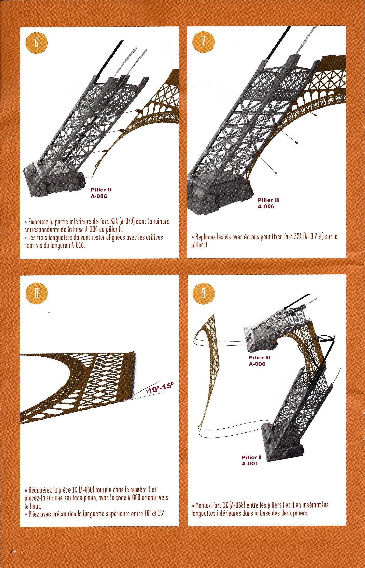 Numéro 32 - Je construis la Tour Eiffel - La fréquentation de la Tour (2/2) 44190032d