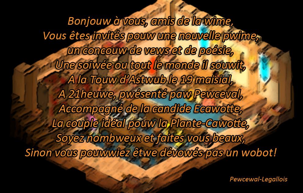 [Event] Pwime a la Wime de la Plante-Cawotte 442274annonceprime