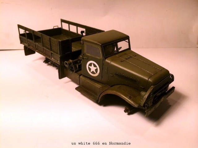 us white 666 cargo truck au 1/35 en Normandie hobby boss - Page 2 442289white2003