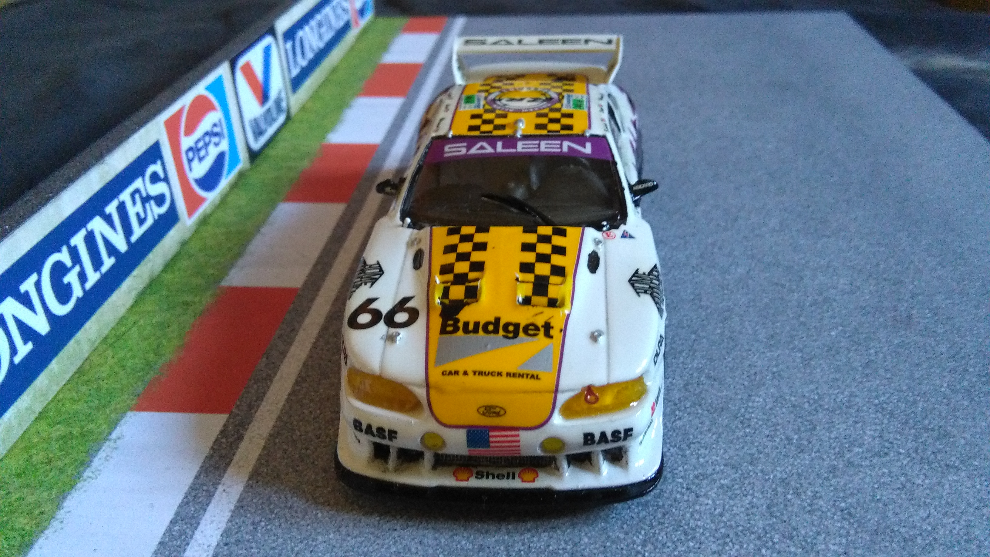 Mustang Saleen Le Mans 1997 #66 (not me) 443103IMG20170713190130