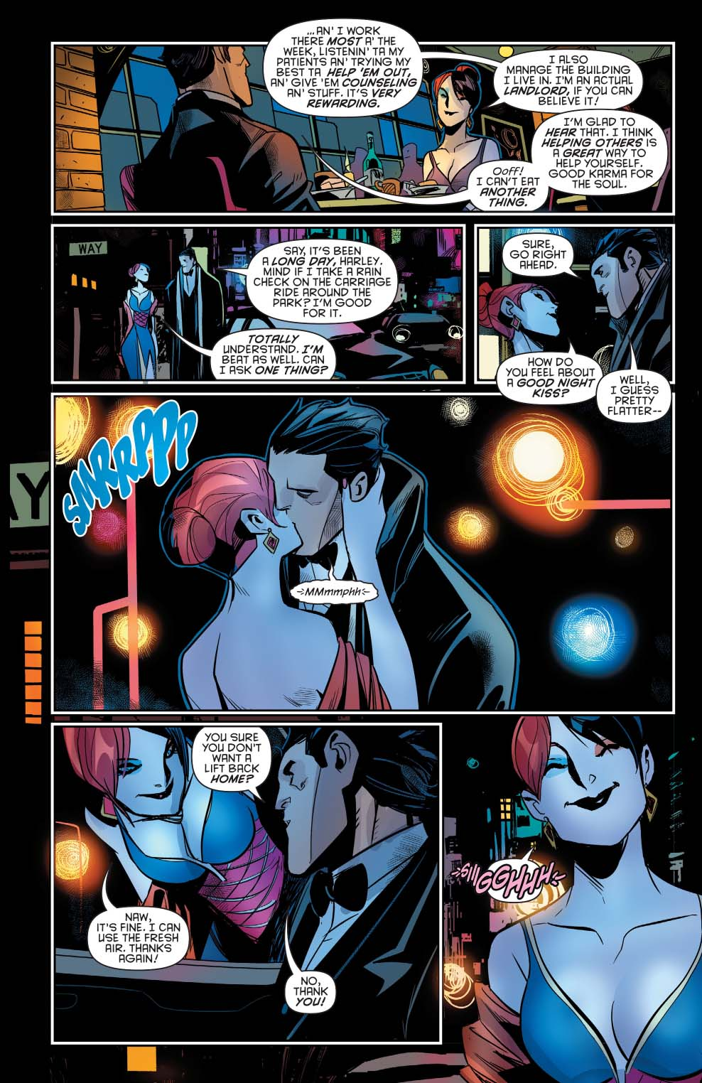 Dans l'ombre du chevalier noir › Batman's link - Page 3 443234brucewaynegoesonadatewithharleyquinn
