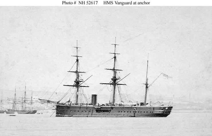 ROYAL NAVY CUIRASSES CLASSE KING GEORGE V (1910) 443556HMSVanguardsistershipduHMSAudacious1892