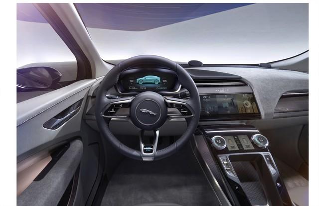 Jaguar Dévoile Le Concept I-PACE : Le SUV Électrique Performant 444178jagipacestudiointerior14111605