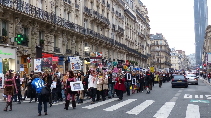 13 - Marche Contre La Fourrure - Paris 24 novembre 2012. 445470P1010160