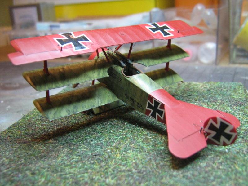 Fokker Dr I 152/17 Rittmeister Manfred von Richthofen [Eduard 1/72] 445687IMG0282