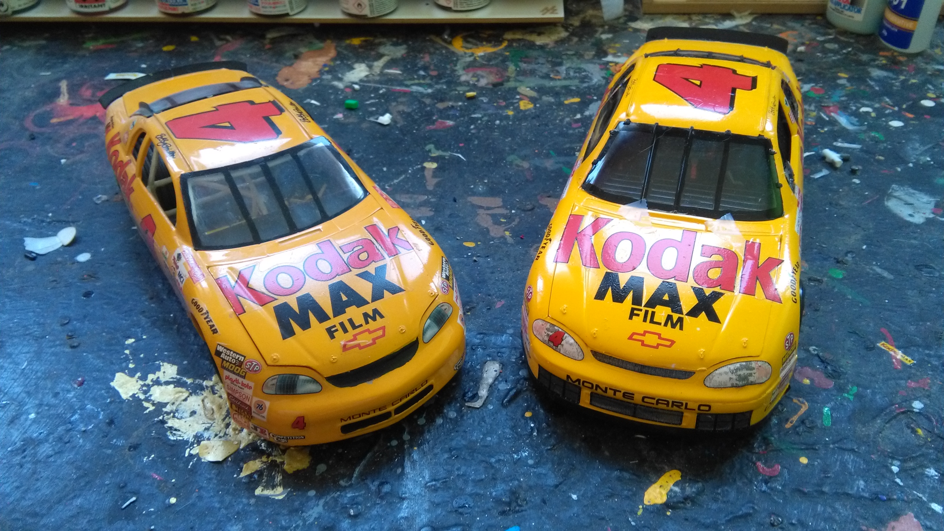 Chevy Monte-Carlo 1998 #4 Bobby Hamilton Kodak  445855IMG20170311143008