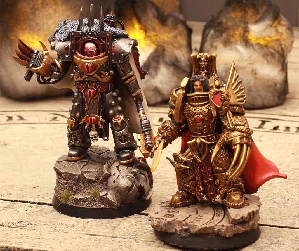 Warhammer 40K (figurines diverses trouvées sur internet! ) - Page 16 446580HorusetlEmpereur