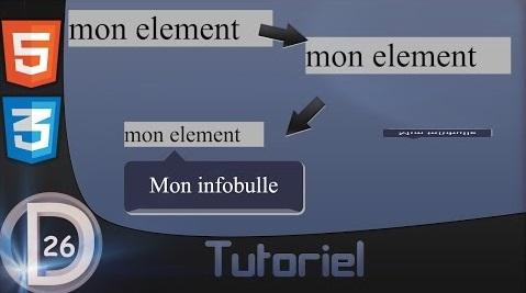 ◄ HTML & CSS | Tutoriel | Infobulle ► 449487infobulle
