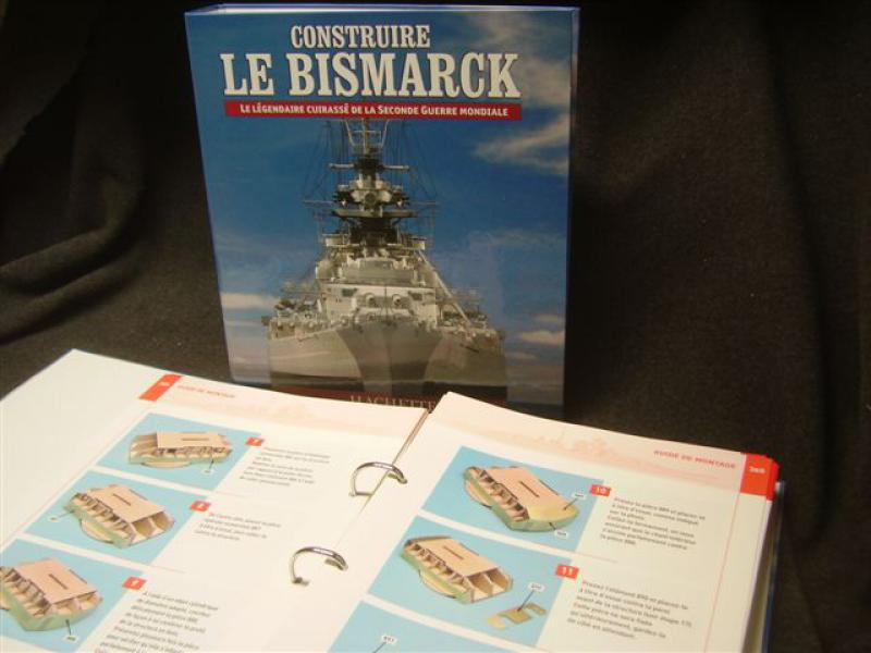 DKM Bismarck 1/200 Amati/ Hachette 449805IMGP1338