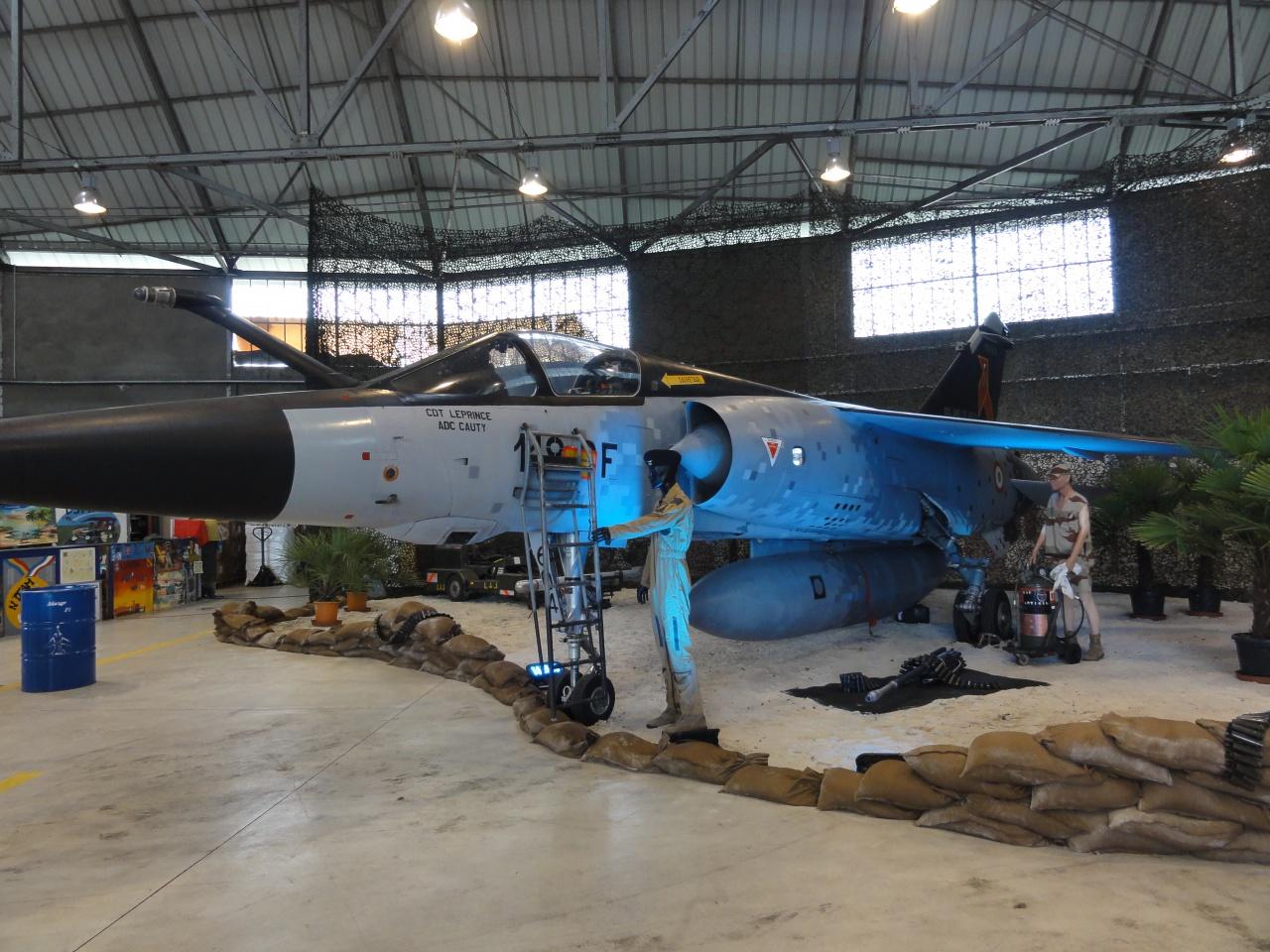 Retrait du Mirage F-1 451593DSC01720