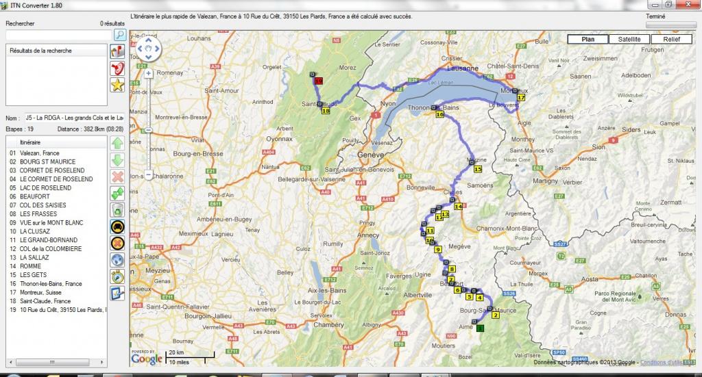 Préparation : LA ROUTE DES GRANDES ALPES - Sept 2013 452507LeLman