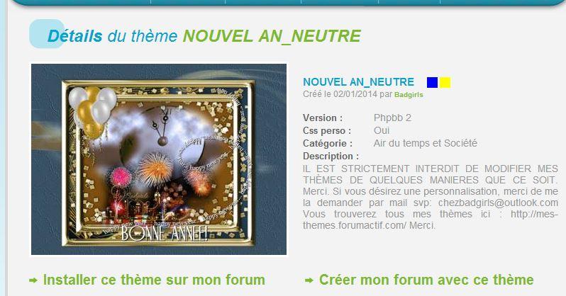 THÈMES NOUVEL AN 453531NOUVELANNEUTRE