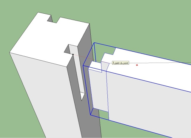 Déplacer avec Précision un Composant avec Sketchup 4567498401
