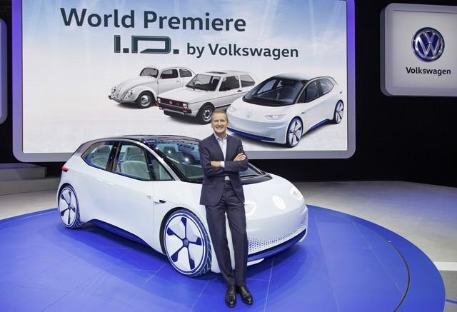 La première mondiale de l'I.D. lance le compte à rebours vers une nouvelle ère Volkswagen  458011DB2016AL01999large