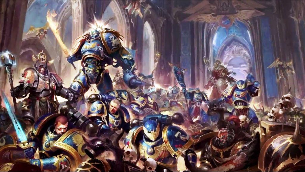 [W30K] Collections d'images : Les Primarques - Page 32 458647Guilliman3