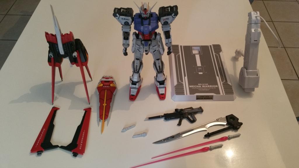 Review/Edito : Strike Gundam Metal Build 1/72 by Moshow la leçon Chinoise donnée a Bandai  45927720161006135122001